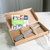 Healthy Human Stainless Steel straws