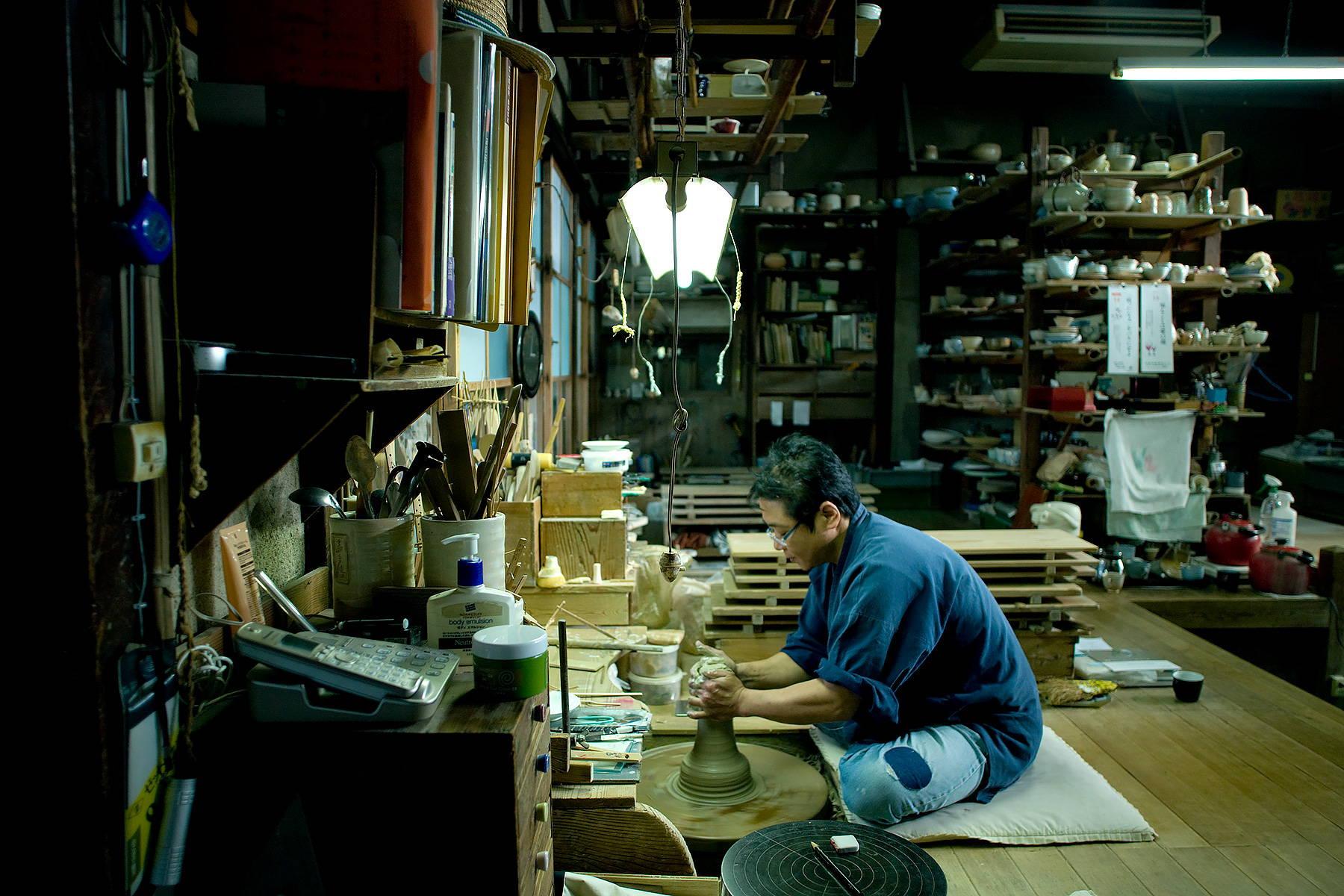 Asahiyaki Pottery Studio Kyoto