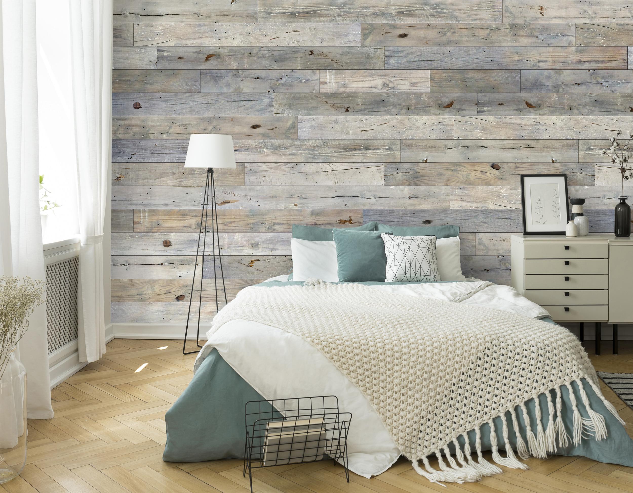 Grey Pine Barnwood Wall Planks Wallplanks