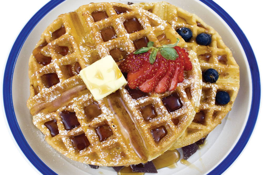 Make delicious gluten-free waffles with Bosquet