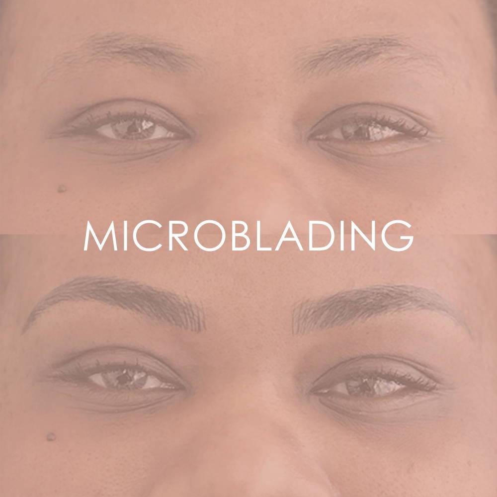 Eyebrow microblading at Revita Skin Clinic in Mississauga Canada