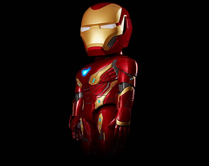Hasil gambar untuk Robot Iron Man MK50
