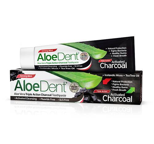 AloeDent Charcoal Toothpaste