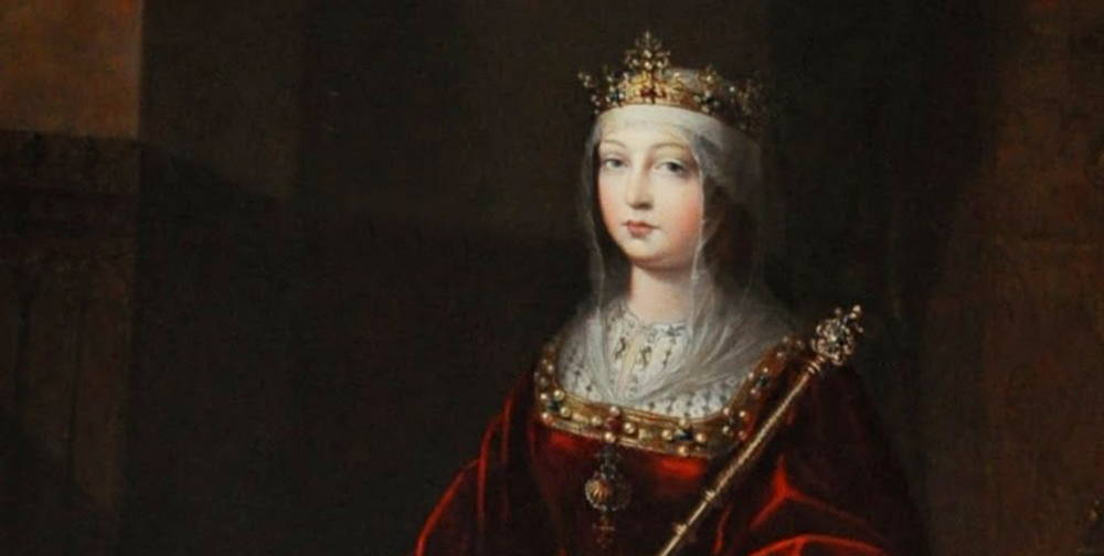 Queen Isabella of Spain in Pearls