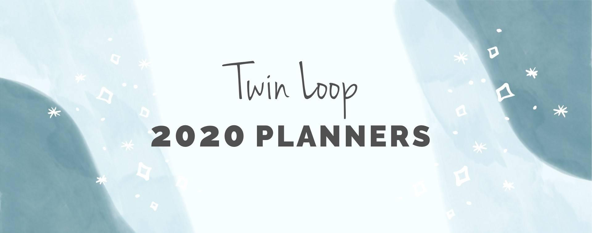 Twin Loop 2020 Planners