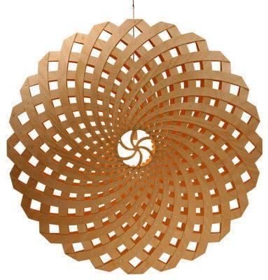 David Trubridge Flax Pendant