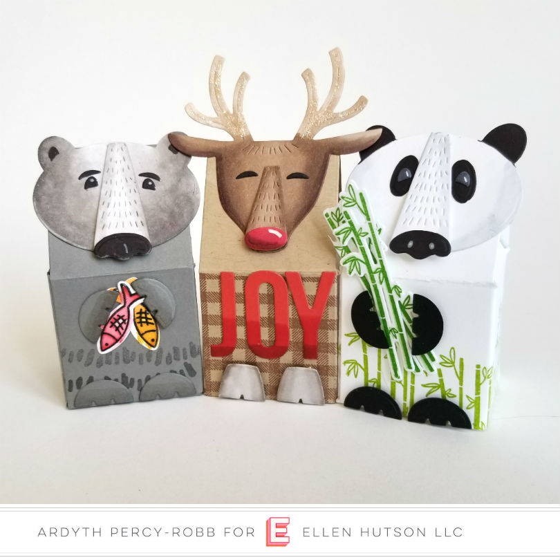 Essentials by Ellen Animal Toppers boxes by Ardyth Percy-Robb