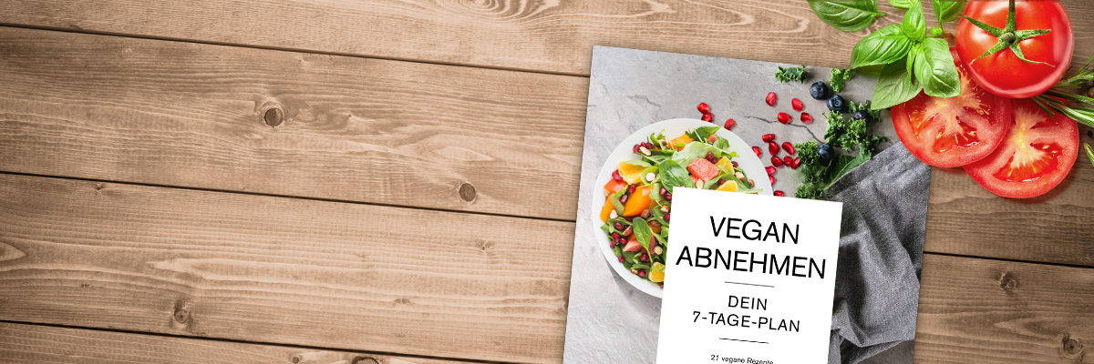Vegan abnehmen mit Plan