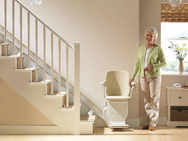 Best indoor stairlift Stannah 600 siena by VIVA Mobility USA | Orlando, FL
