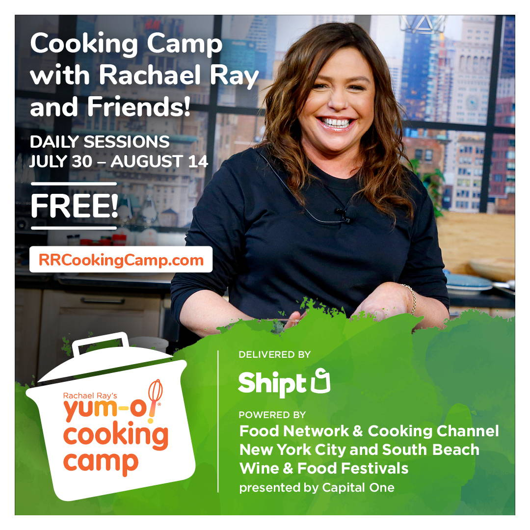 Rachael Ray's Yum-O Cooking Camp