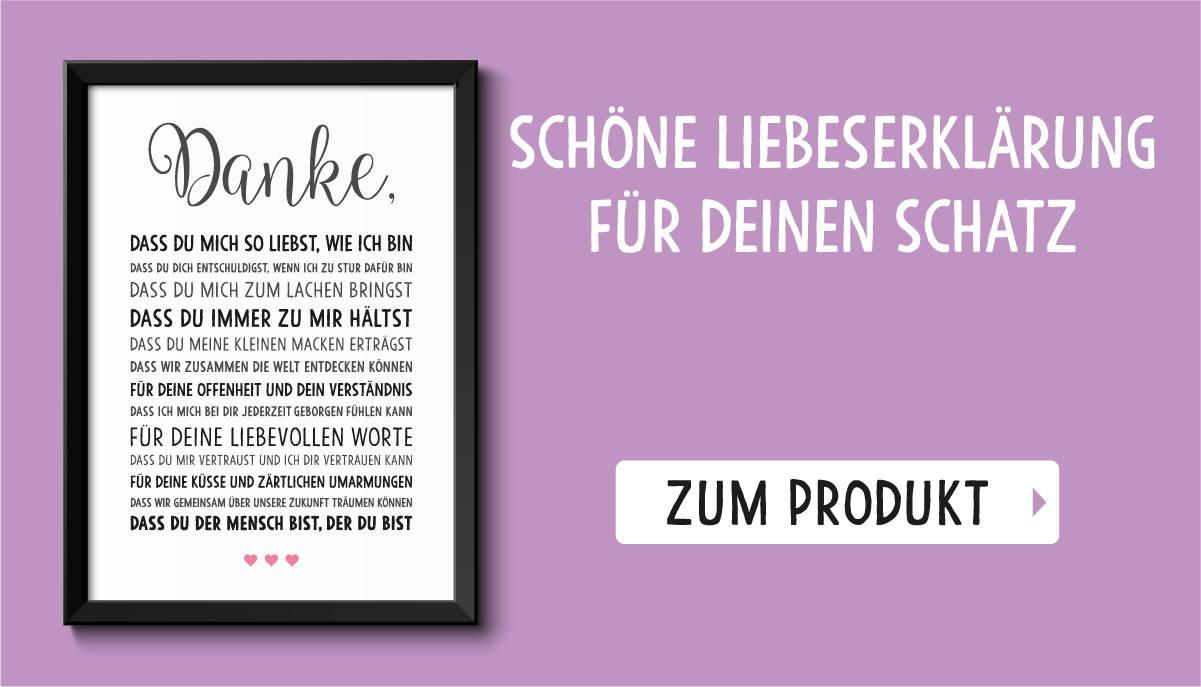 Beliebte Produkte Bild Danke Liebe