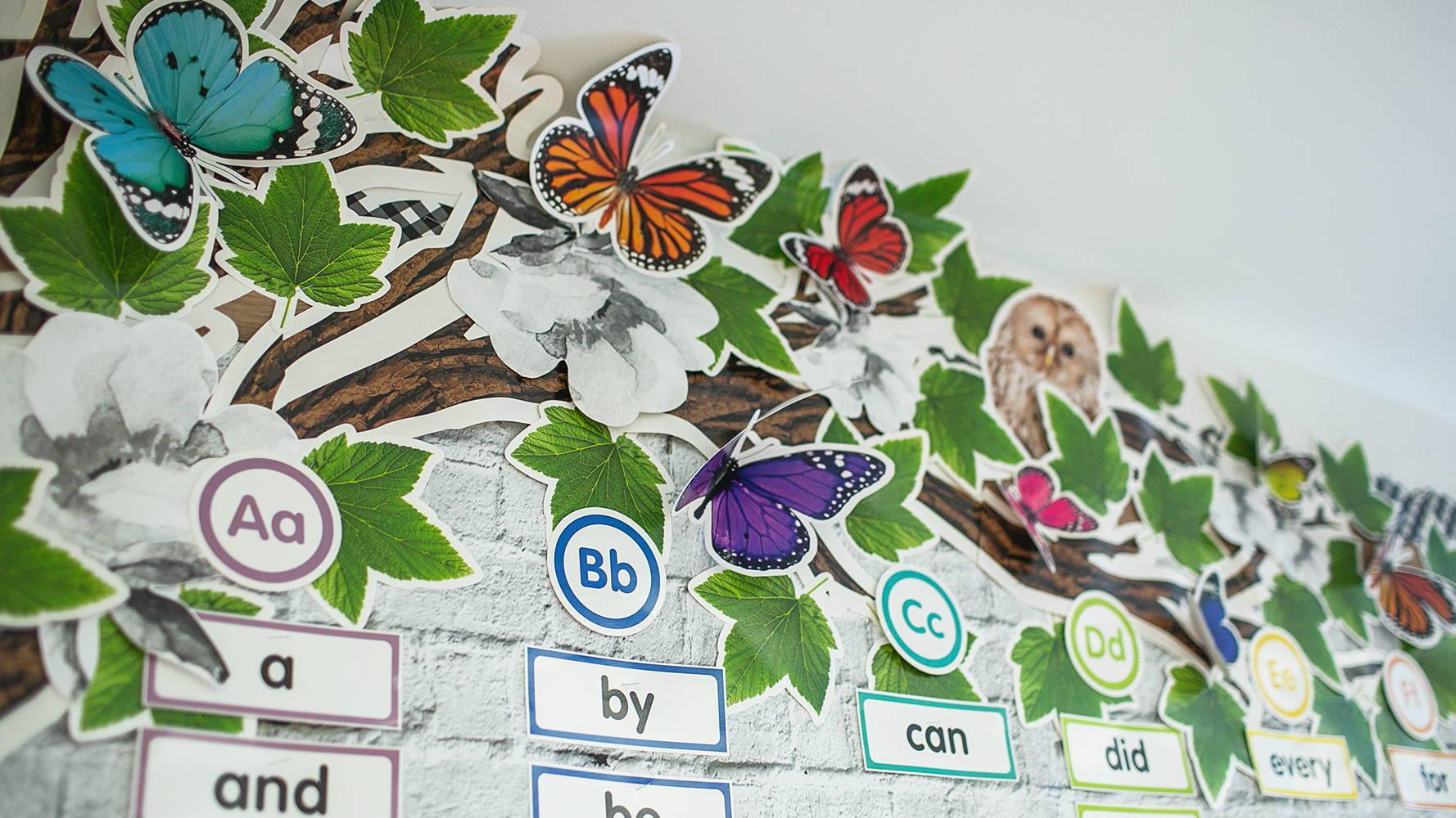 Woodland Whimsy Tree BBS