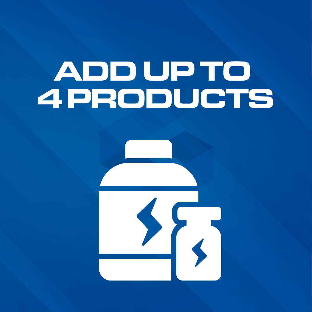 add up to 4 supplements
