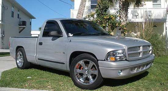Grey 2002 Dodge Dakota