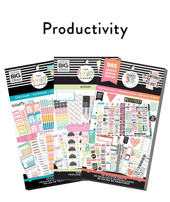 Productivity Stickers