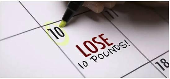 metas realistas para perder peso