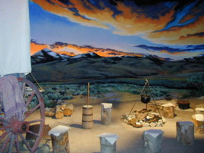 Our interpretive sets were created with historical authenticity to make your simulated trek along the Oregon/California Trail a fun, educational experience.