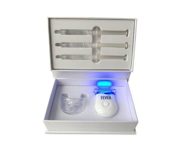 non peroxide single teeth whitening kit