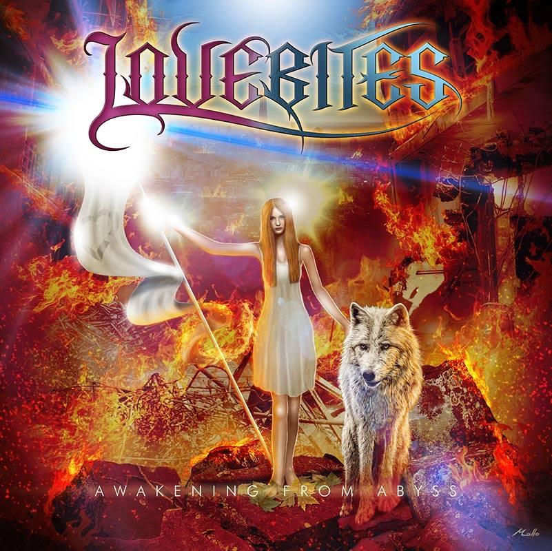 LOVEBITES Awakening From Abyss album cover art