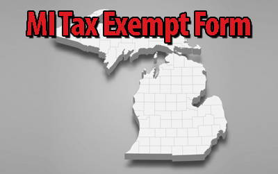 Michigan Tax Exempt Form