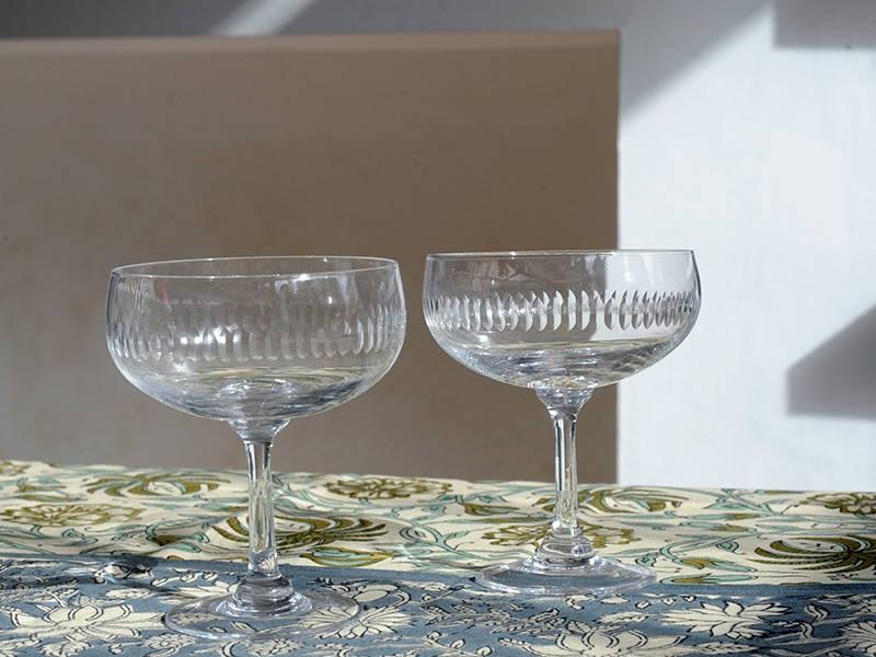 The Vintage List Spears Cocktail Glasses Set