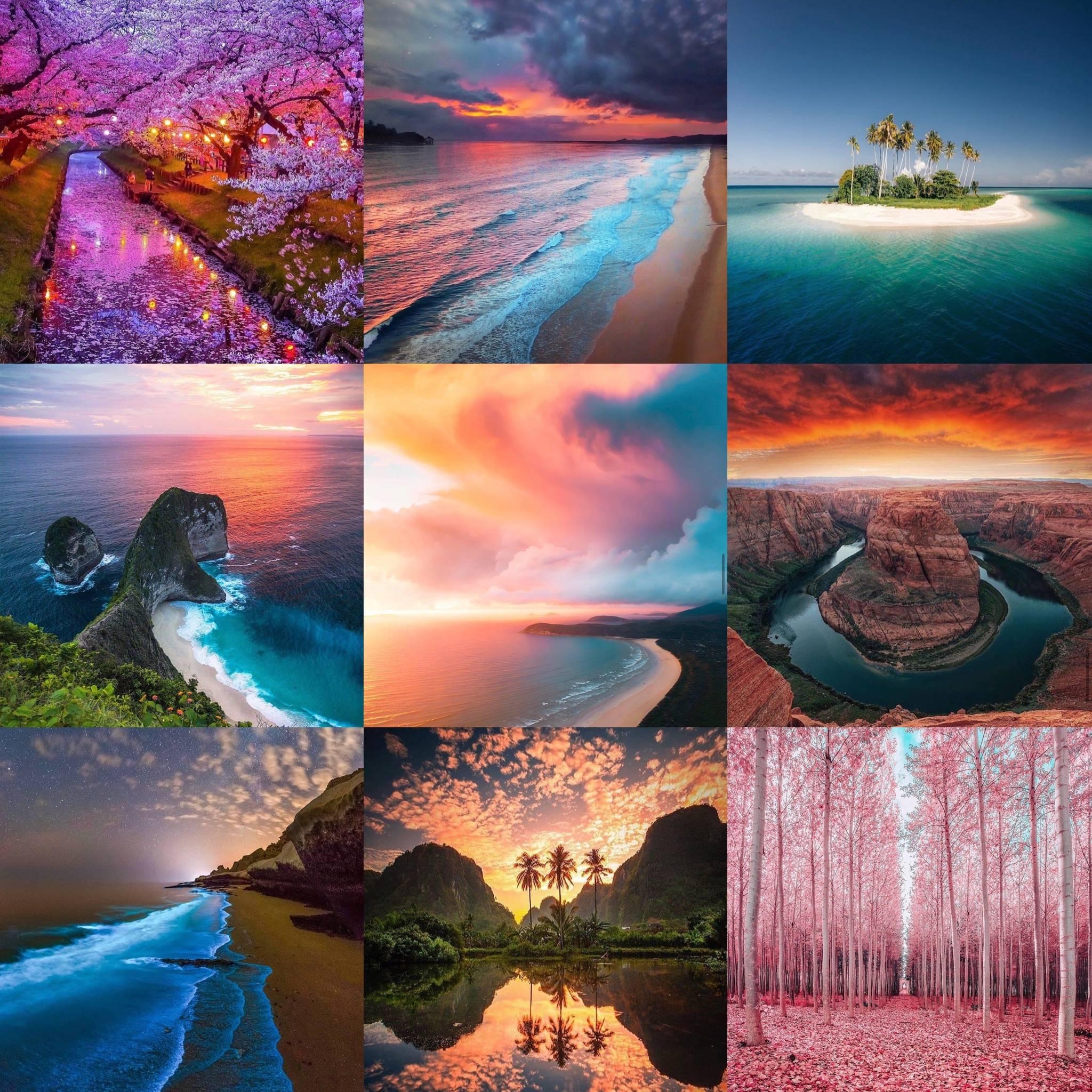 Aura Bracelets Landscapes