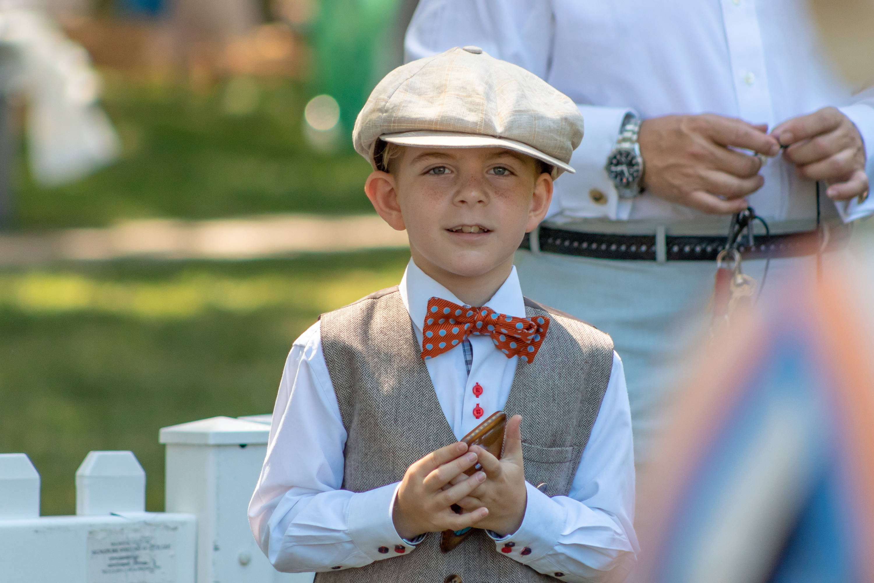 Kids Parade at the 2018 Jazz Age Lawn Party