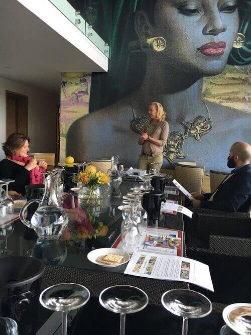 Präsentation von Clarissa Hagemann in Kapstadt