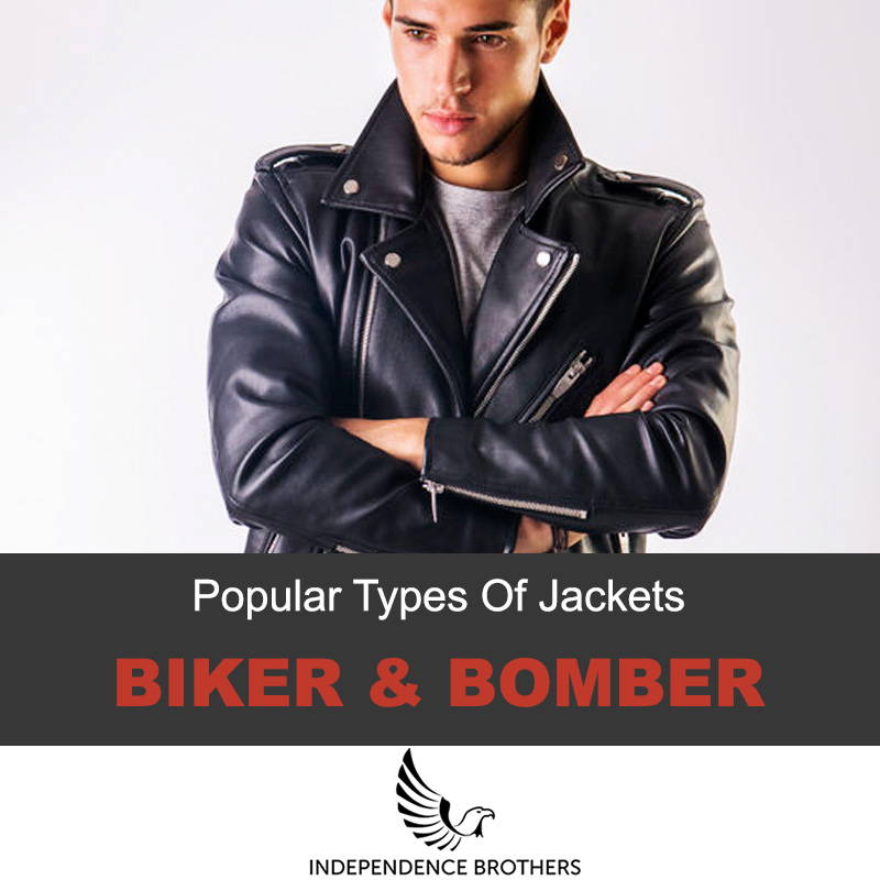 Popular types of leather jackets