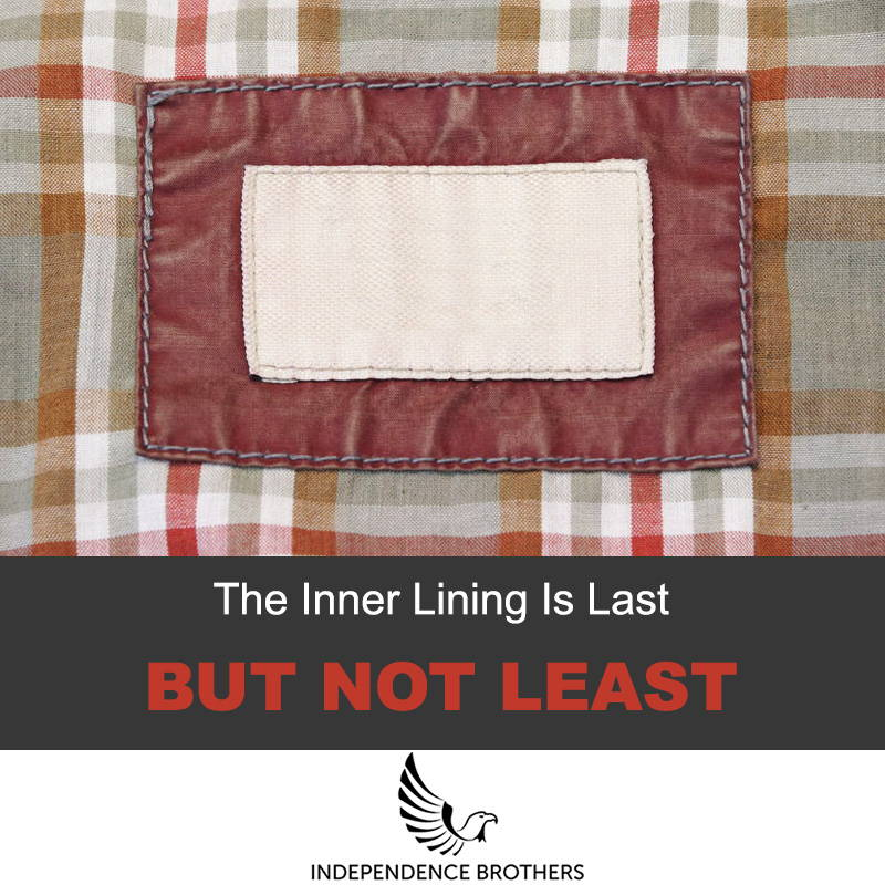 Leather jacket inner lining