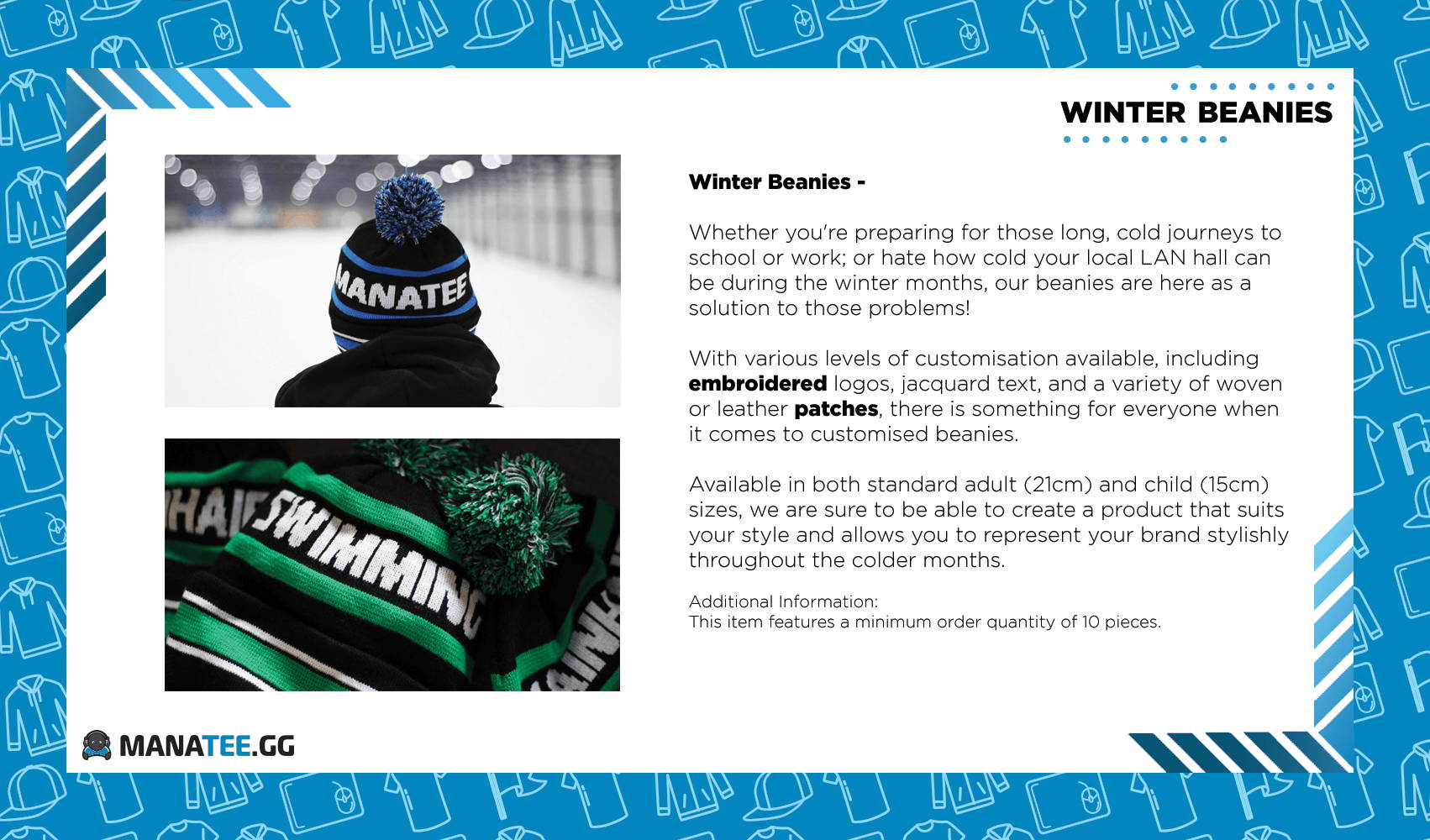 Beanies Winter Custom