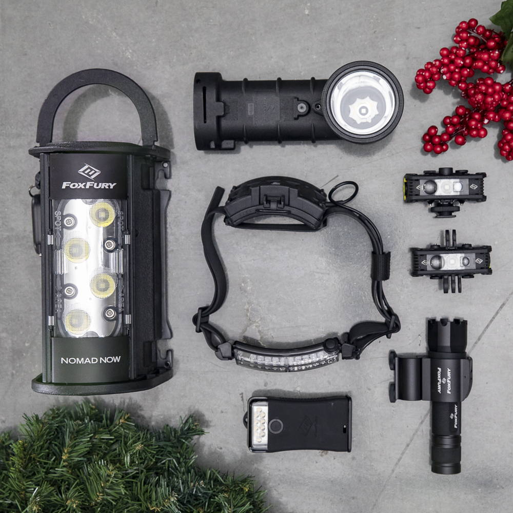 FoxFury Best Selling Lighting Tools for the Holidays