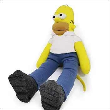 Yellow sock monkey