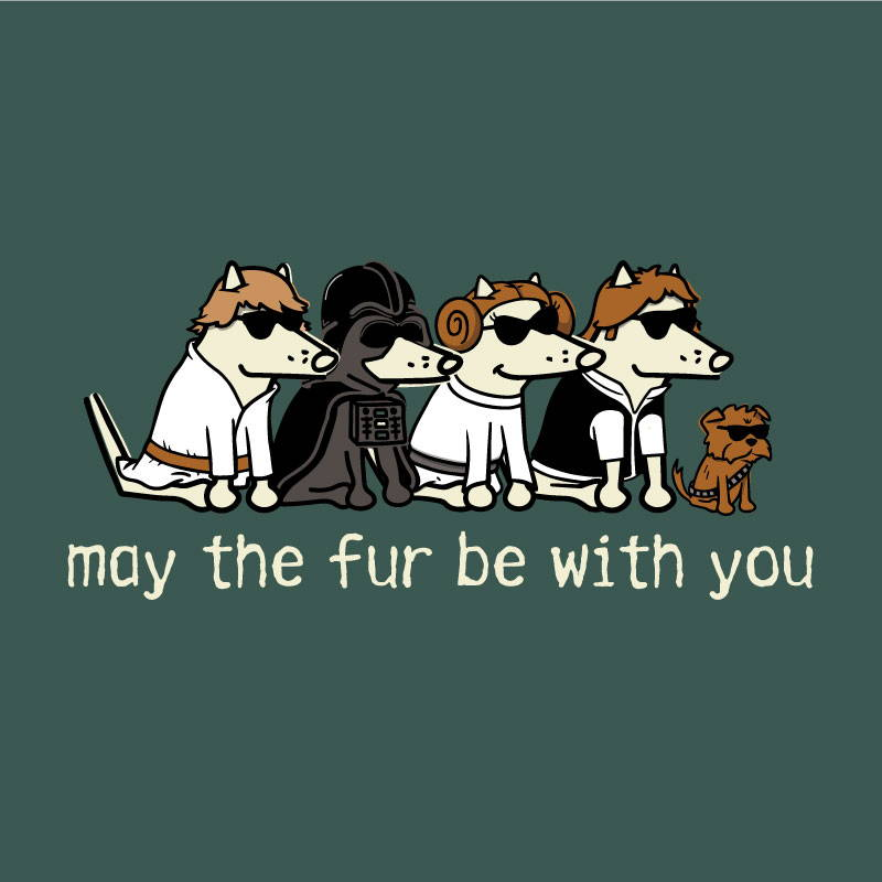 Shop teddy the dog may the fur be with you pup culture collection
