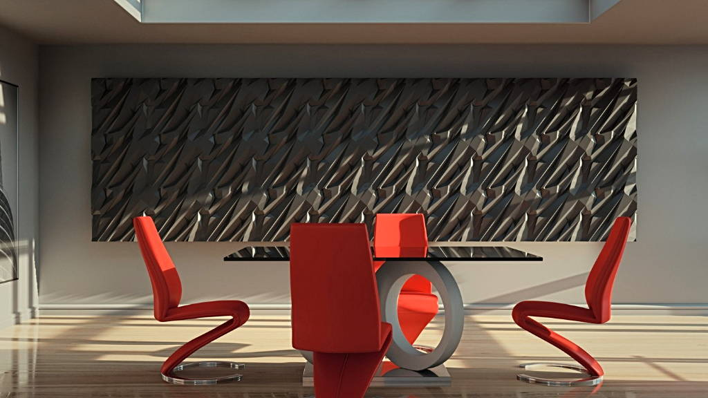 3D Ceramic Gypsum - model CRUSHED ROCK