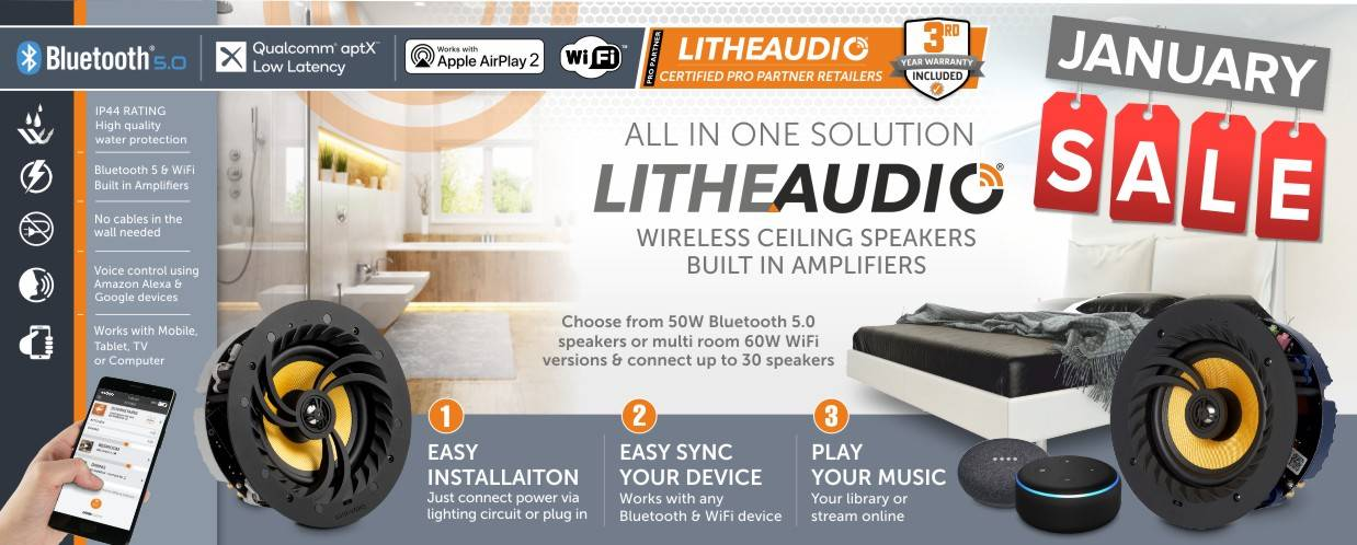 Lithe Audio 10% Discount at Audio Volt in the month of January