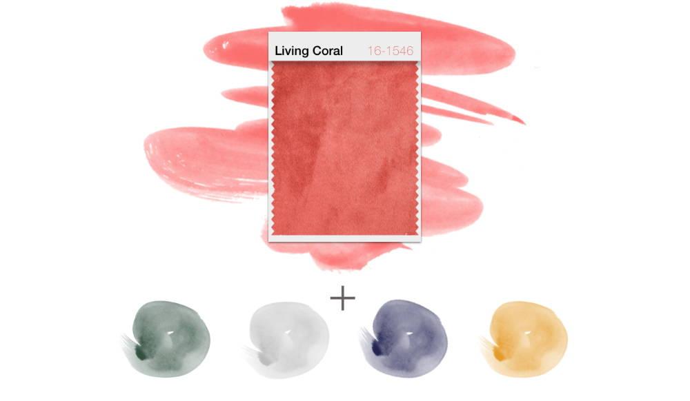 Pantone Farbe des Jahres 2019 Living Coral