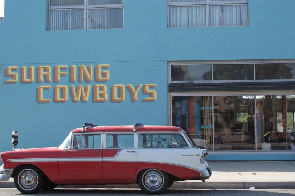 Surfing Cowboys Venice Blvd Mar Vista Store View