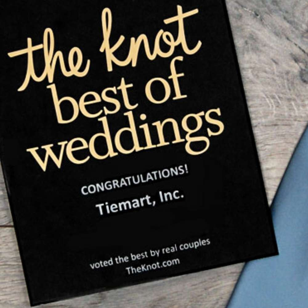 The Knot Wedding Award for TieMart