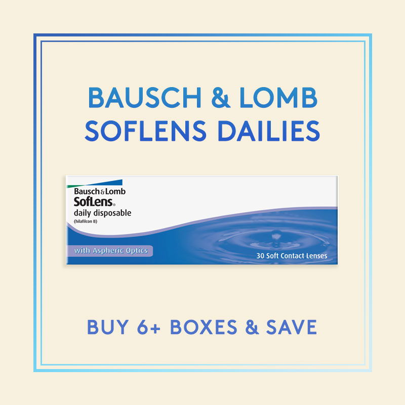 Bausch & Lomb Soflens Dailies Contact Lenses