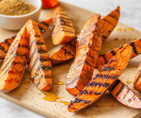 Everyday Grilled Sweet Potatoes