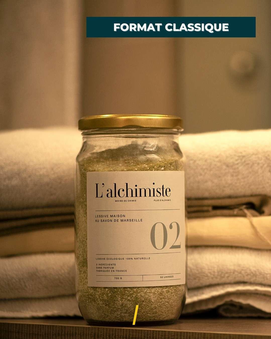 La lessive naturelle en poudre ecologique - L'alchimiste