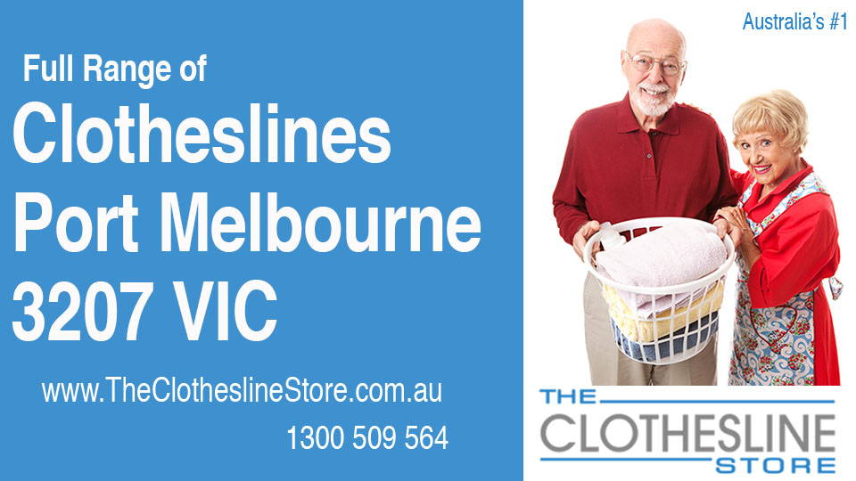 New Clotheslines in Port Melbourne Victoria 3207