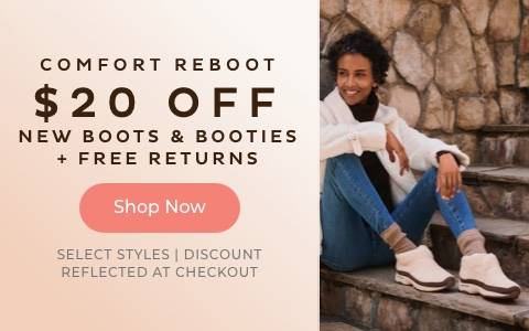 $20 Off Boots & Booties