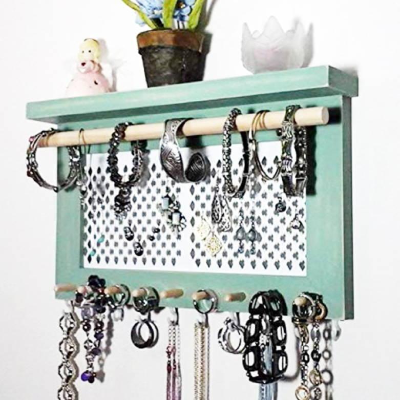 Wall Jewelry Organizer