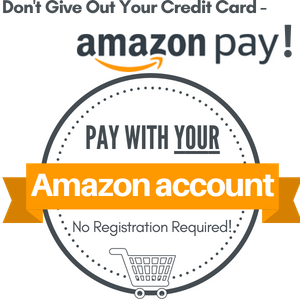 Use your Amazon account to checkout.