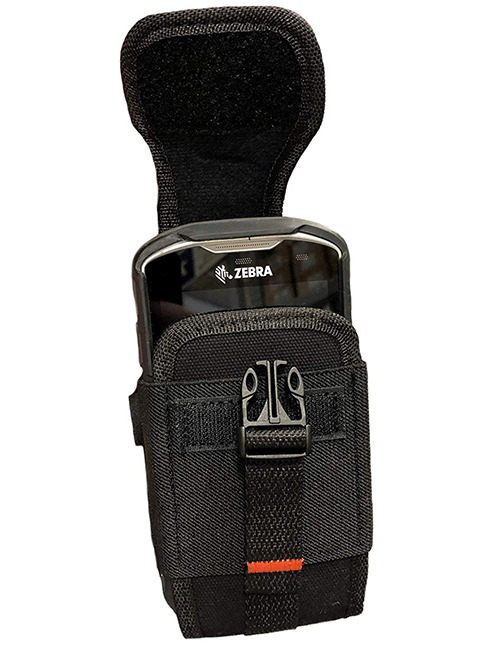 Zebra TC75/75X Canvas Case Holster Pouch Cover Card Holder Belt Clip Rugged