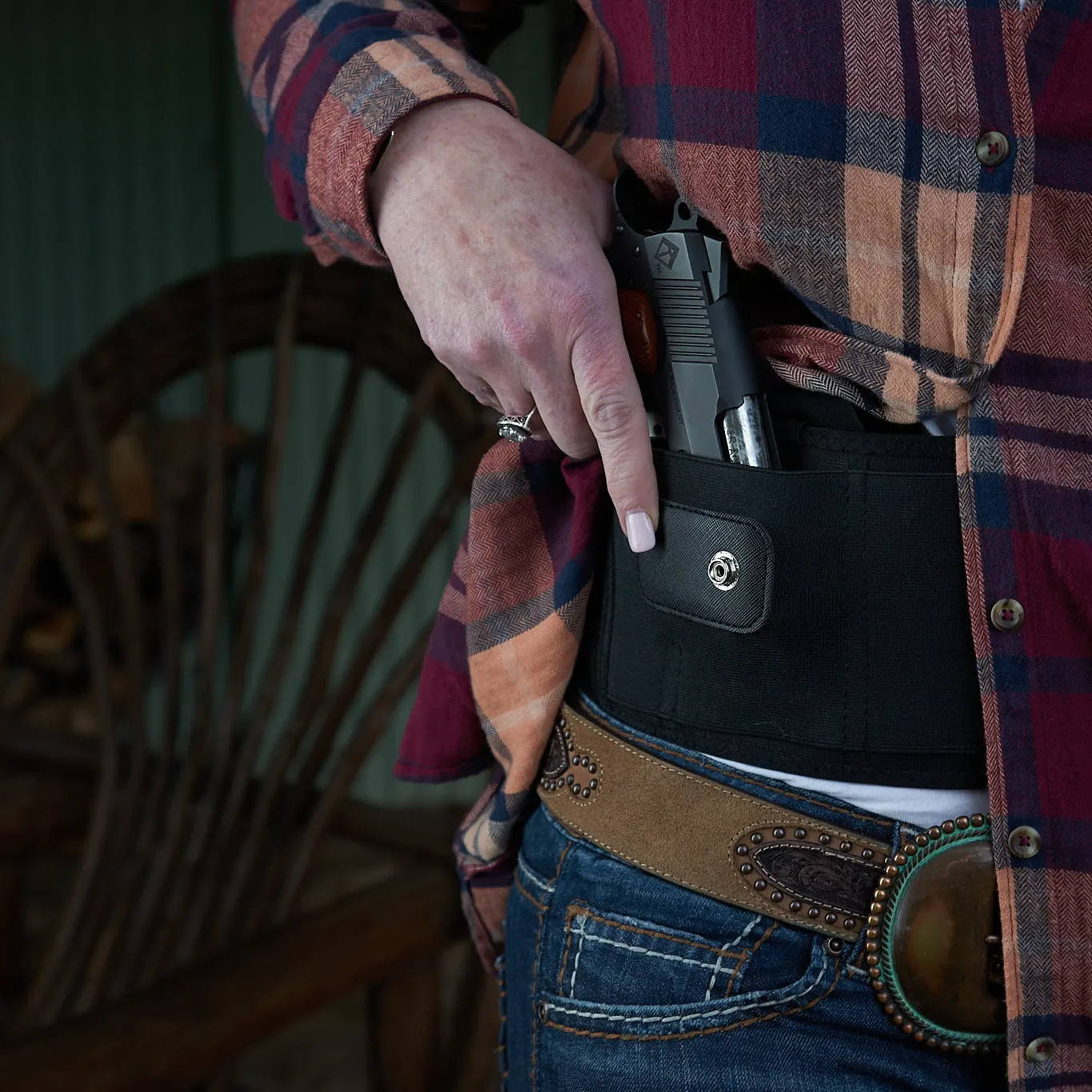 most comfortable concealed carry holster