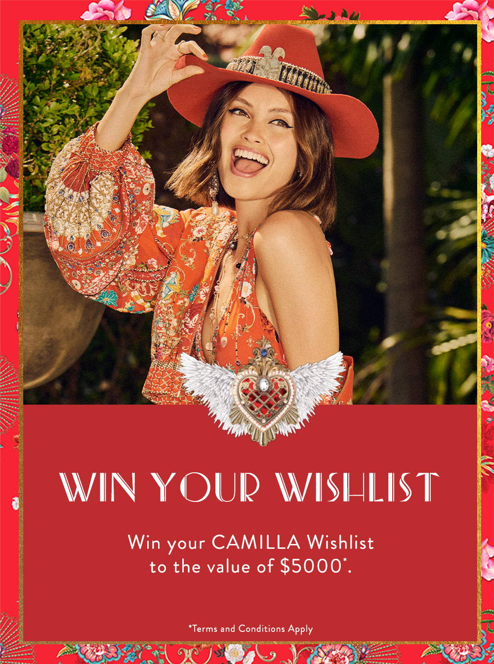 Win Your Wishlist | Win your CAMILLA wishlist to the value of $5000