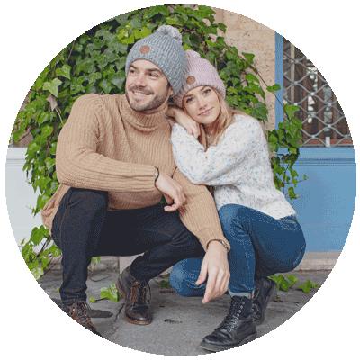 Bonnets homme et femme